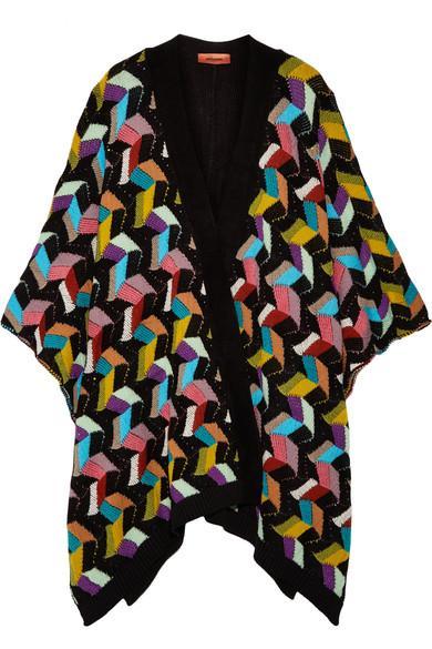 Missoni Intarsia Wool-blend Wrap