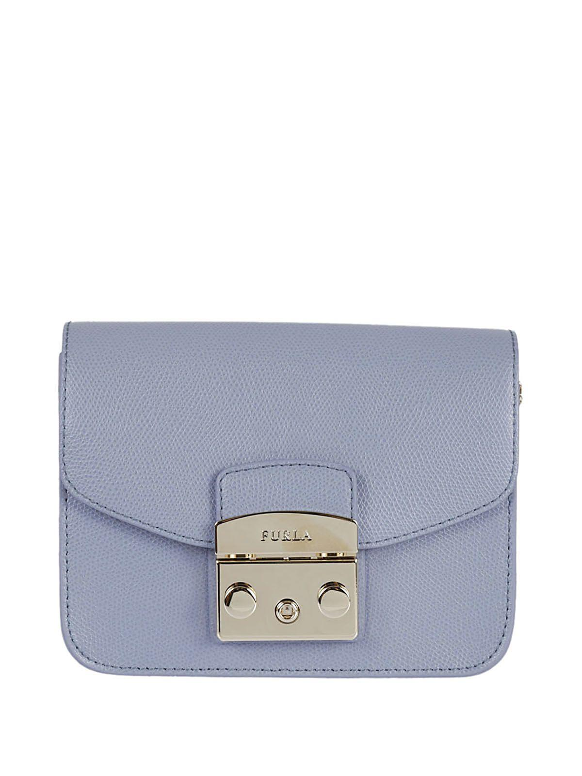 Furla Minibags Metropolis Lightblue In Azzurro