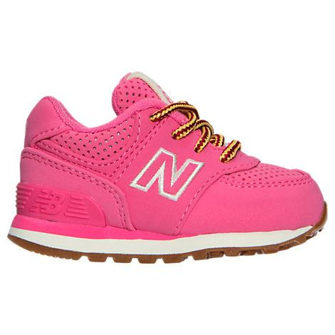 New Balance Girls' Toddler 574 Outdoor Boots, Pink