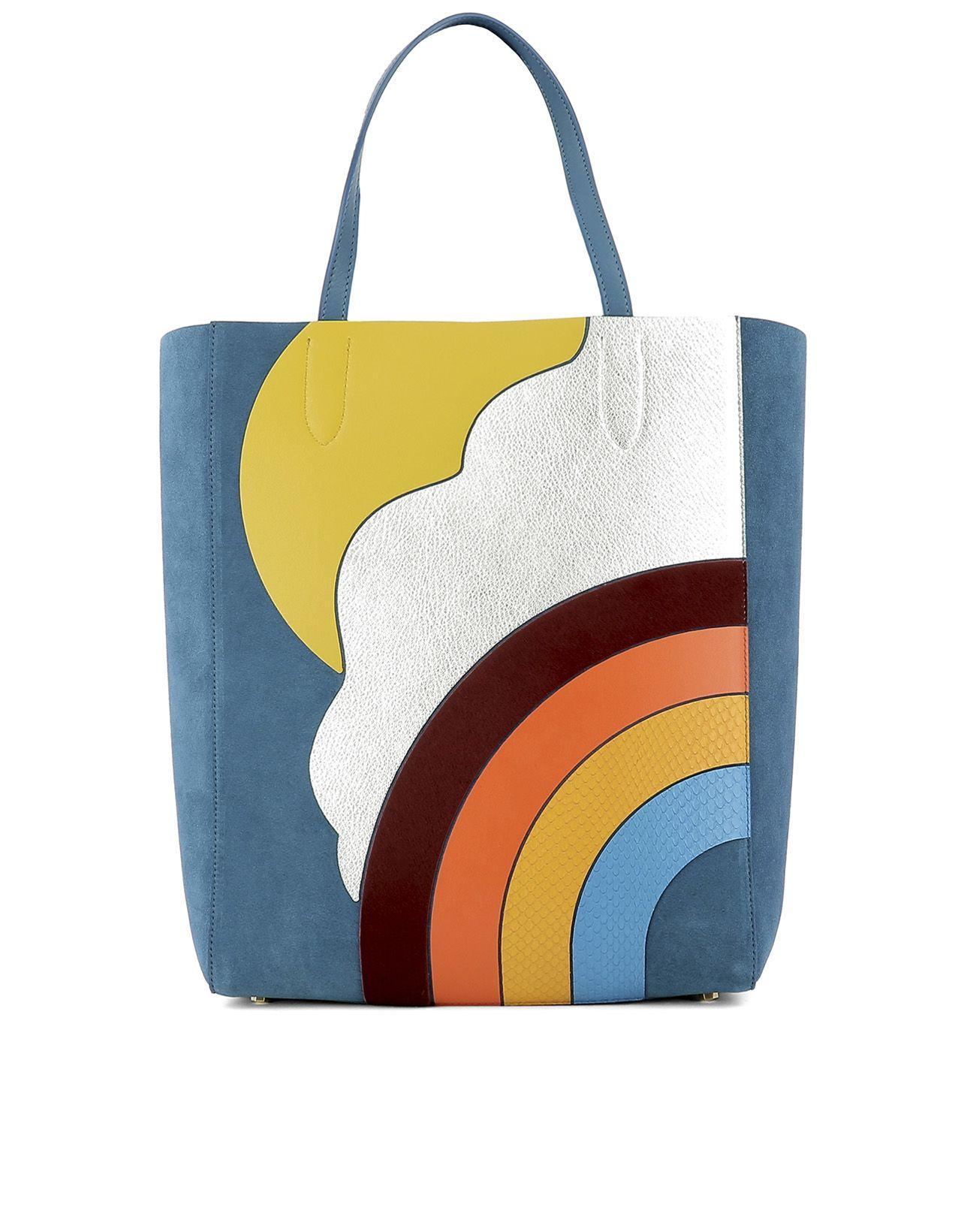 Anya Hindmarch Multicolor Leather Shoulder Bag