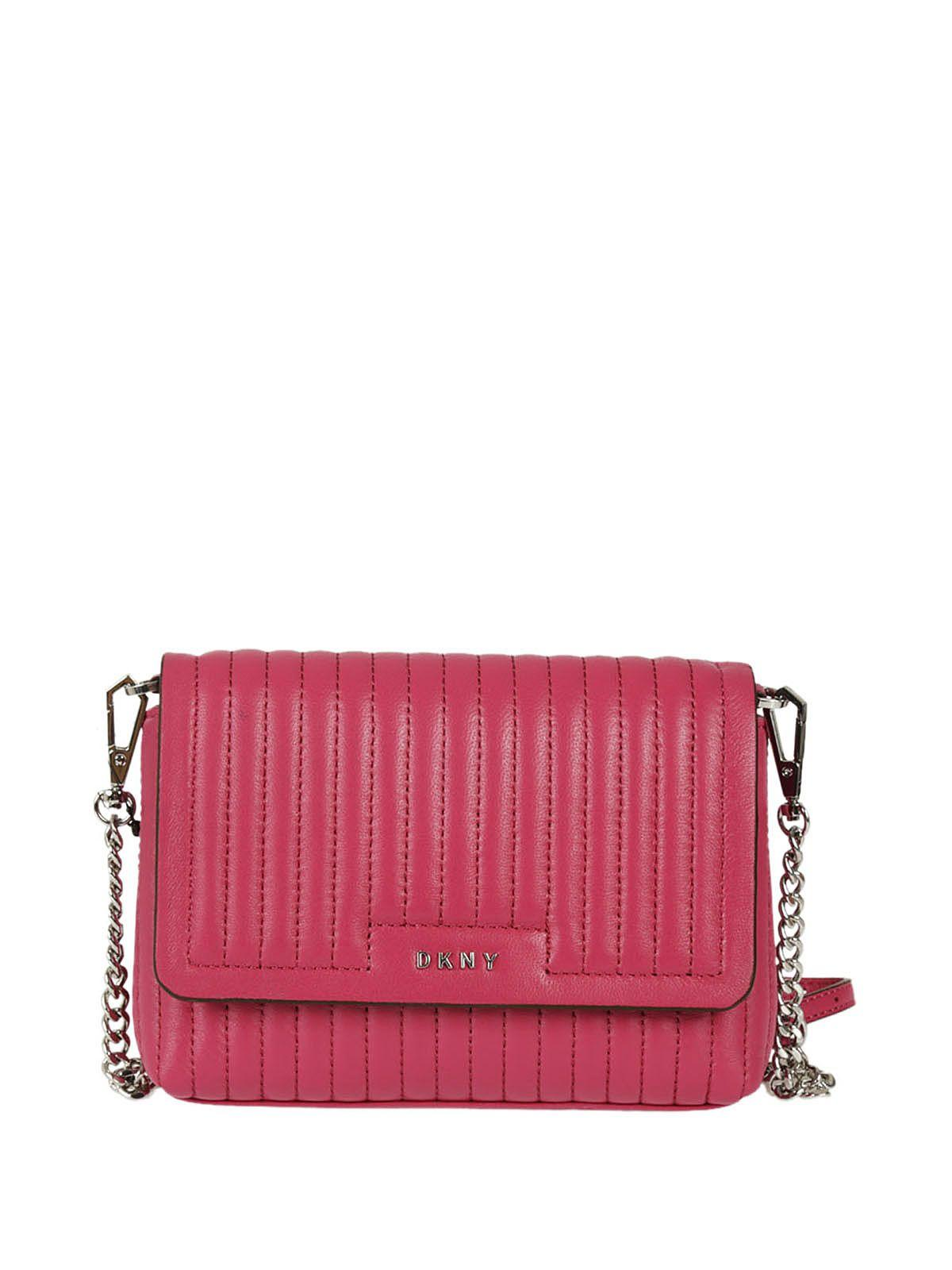 Dkny Quilted Shoulder Bag In Ciliegia