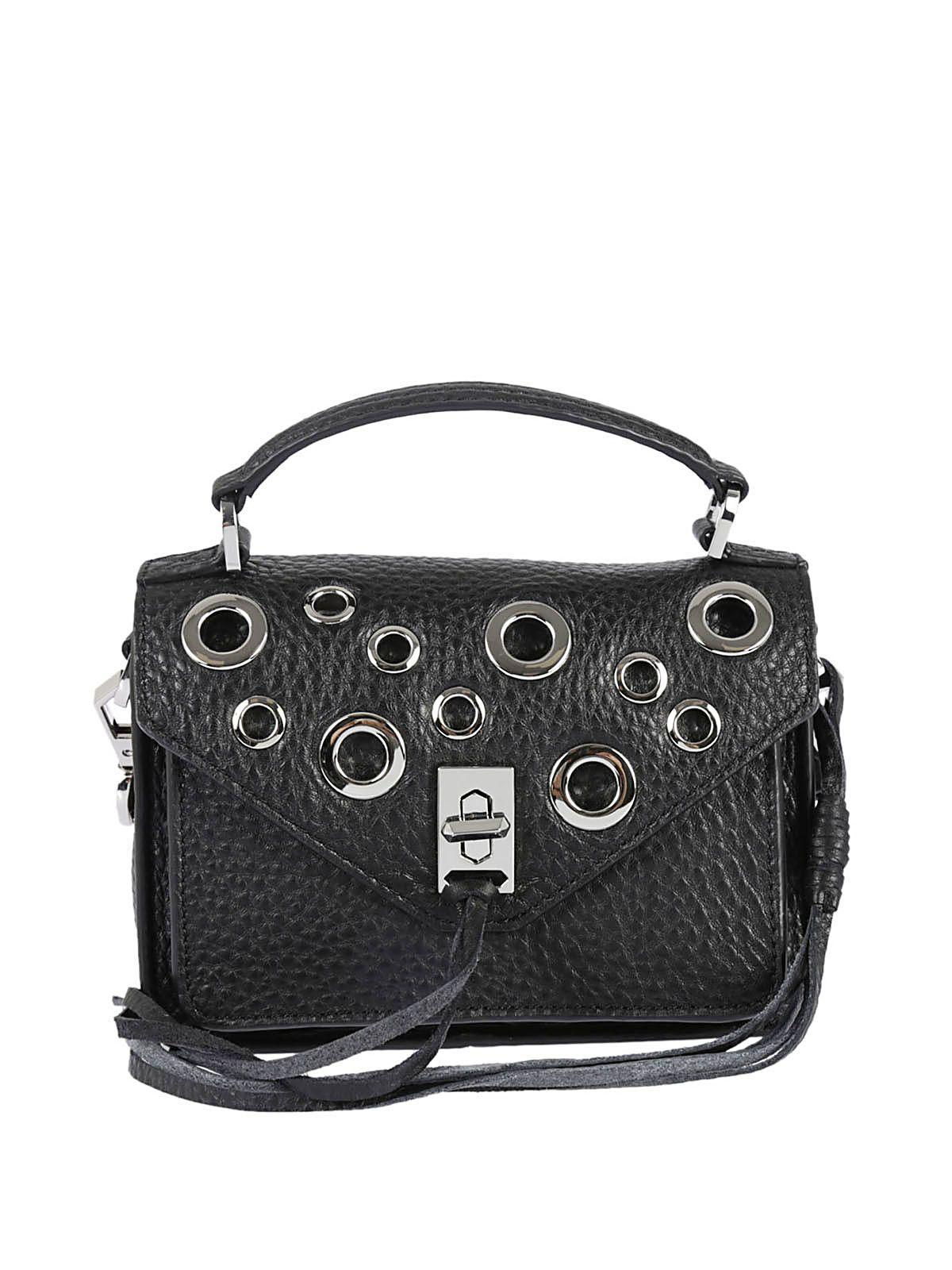 Rebecca Minkoff Mini Darren Shoulder Bag In Black