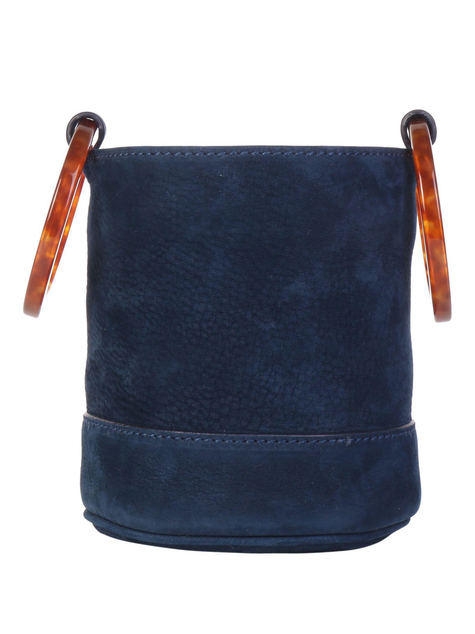 Simon Miller Bonsai Handbag In Smoke Blue