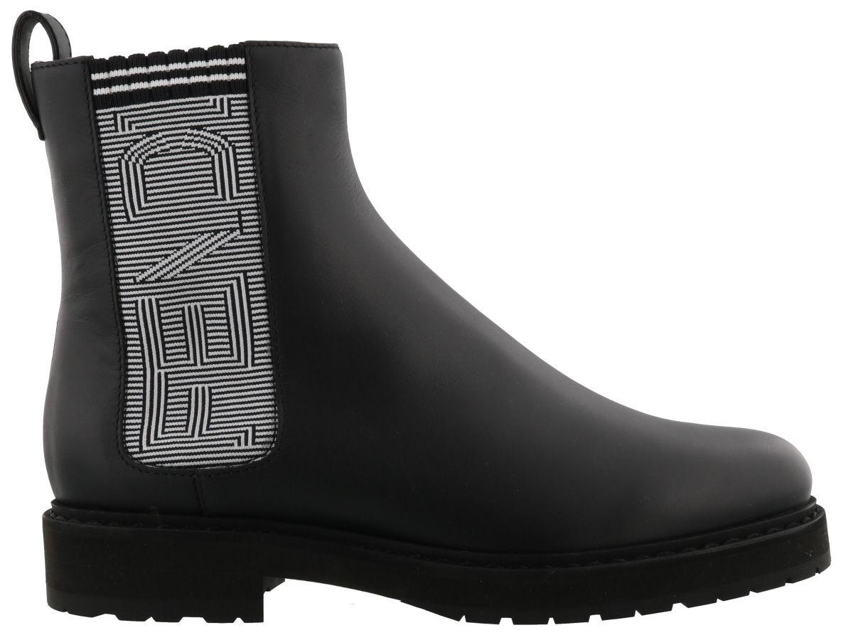 Fendi Ankle Boot In Black