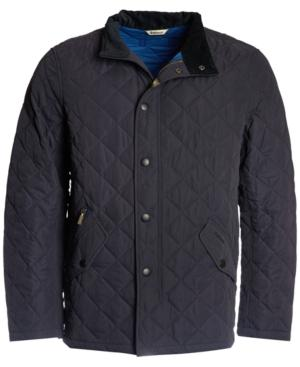 Barbour Men's Shoveler Quilted Jacket, A Macy's Exclusive Style In Navy