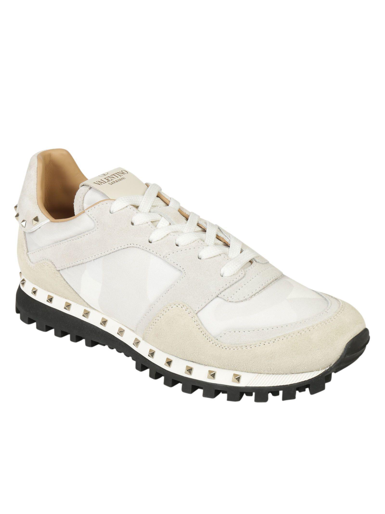 Valentino Garavani Sneakers In Bianco