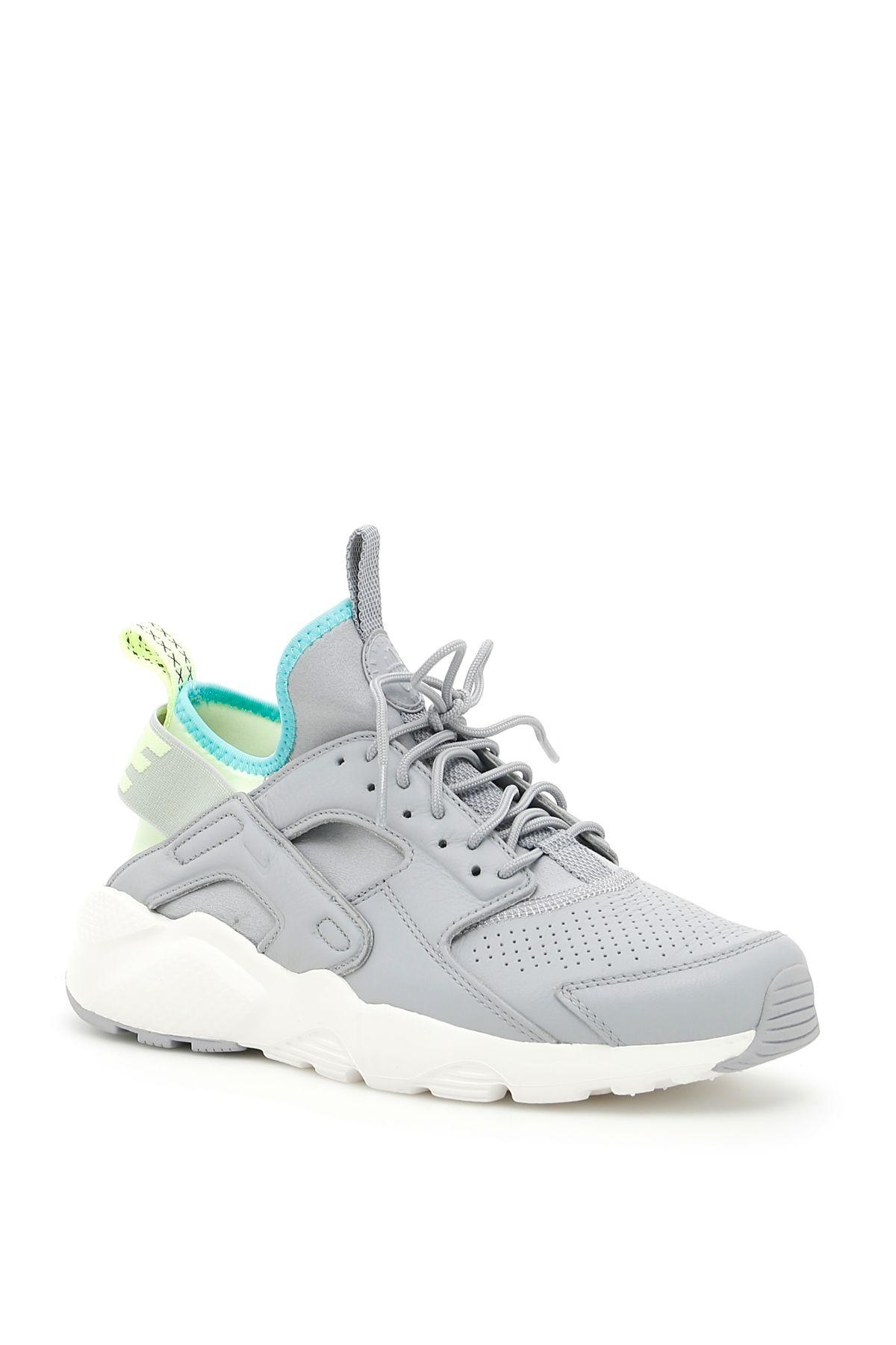 Nike Huarache Run Ultra Se Sneakers In Wolf Grey Wolf Grey Barely Vol|grigio
