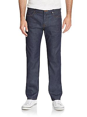 7 For All Mankind Standard Straight-leg Jeans In Spectrum