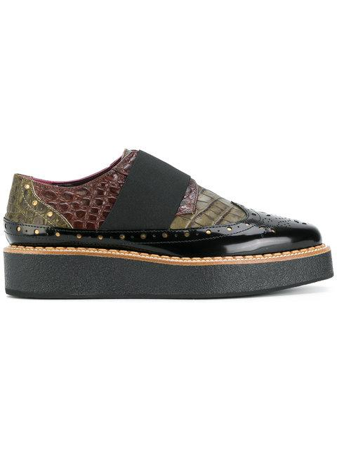 Antonio Marras Contrast Brogue Shoes