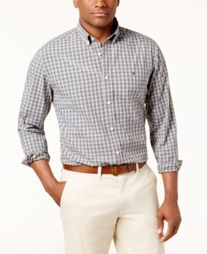 Tommy Hilfiger Men's Classic-fit Casey Check-print Shirt In Castlerock