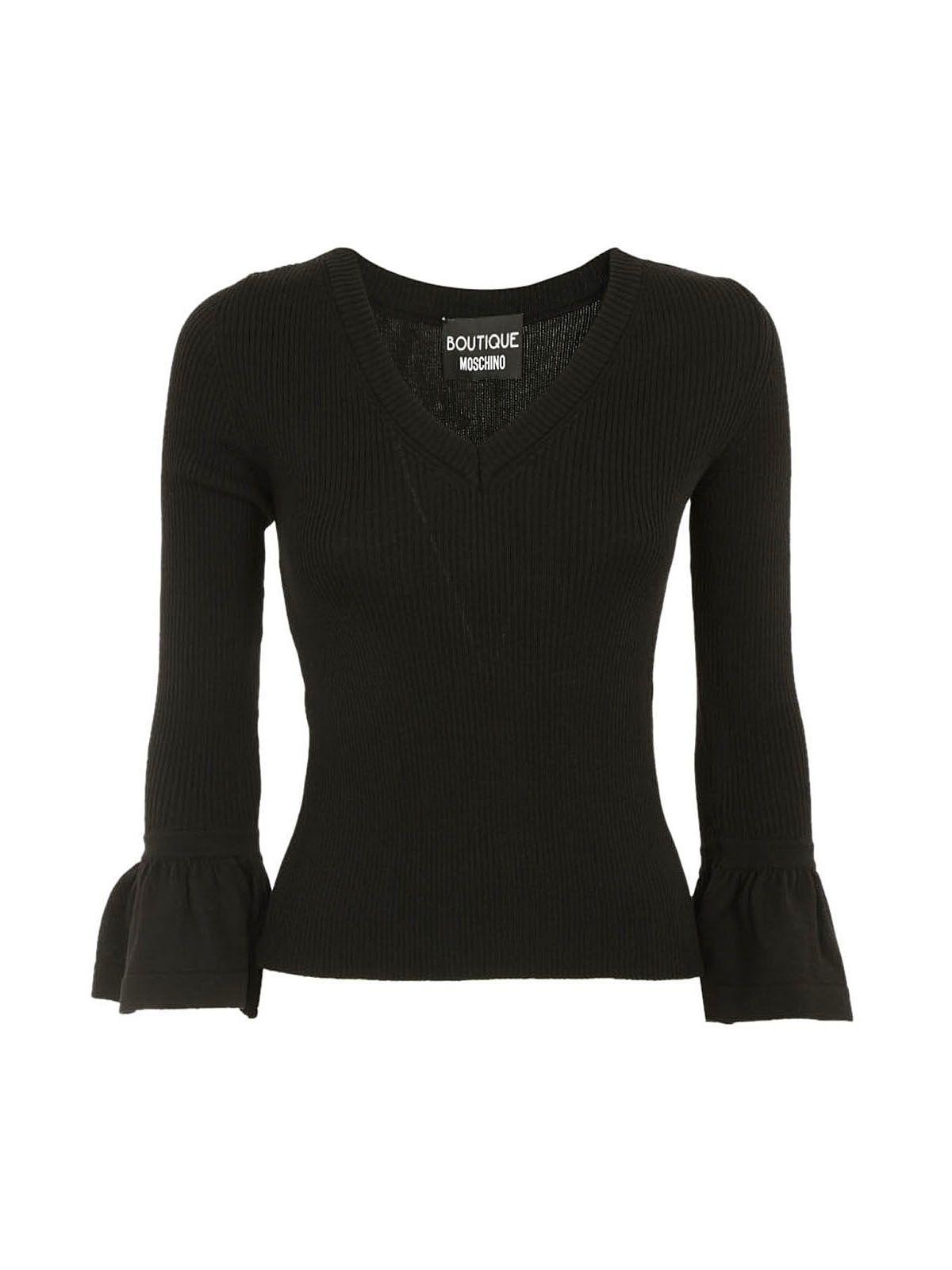 Boutique Moschino Ruffle Sweater