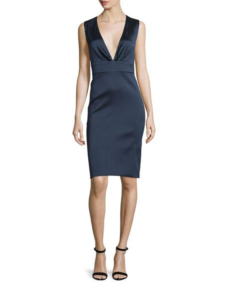 Sachin & Babi Sleeveless Bodycon Cocktail Dress, Sapphire
