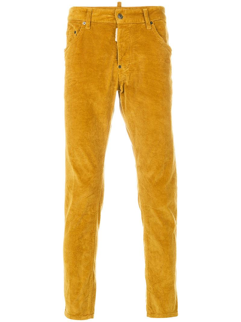 Dsquared2 Corduroy Slim-fit Trousers
