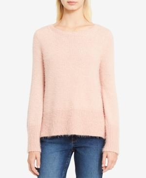 Calvin Klein Jeans Est.1978 High-low Scoop-neck Sweater In Baked Apricot