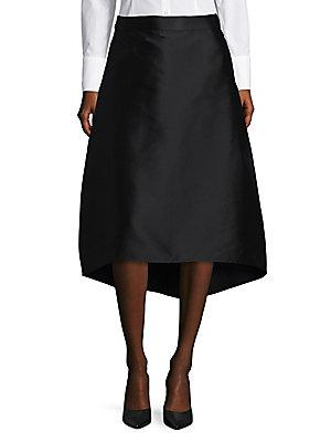 Halston Heritage A-line Skirt In Black