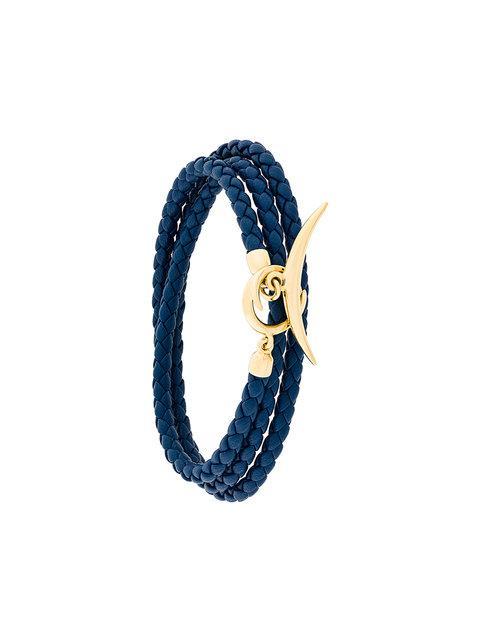 Shaun Leane Quill Wrap Bracelet In Blue