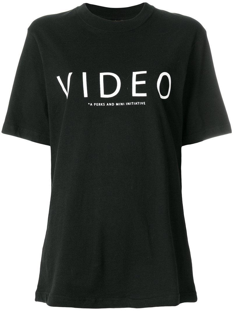 Perks And Mini Oversized Printed T-shirt