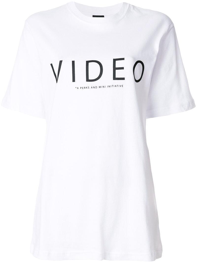 Perks And Mini Nature Print T-shirt