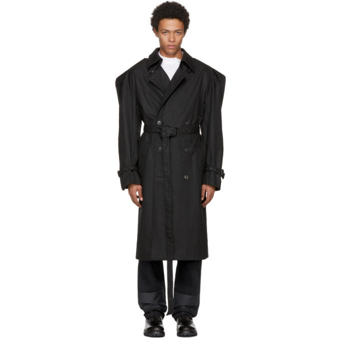 Y/project Black Trench Coat