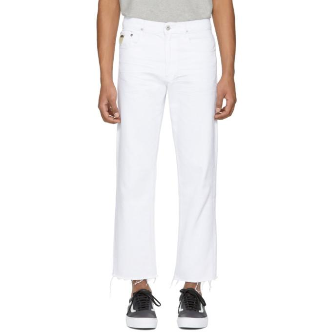 April77 White Flip Jeans