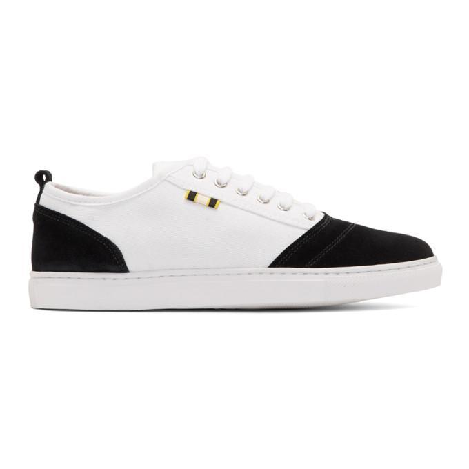 Aprix White And Black Apr-001 Sneakers In White / Black