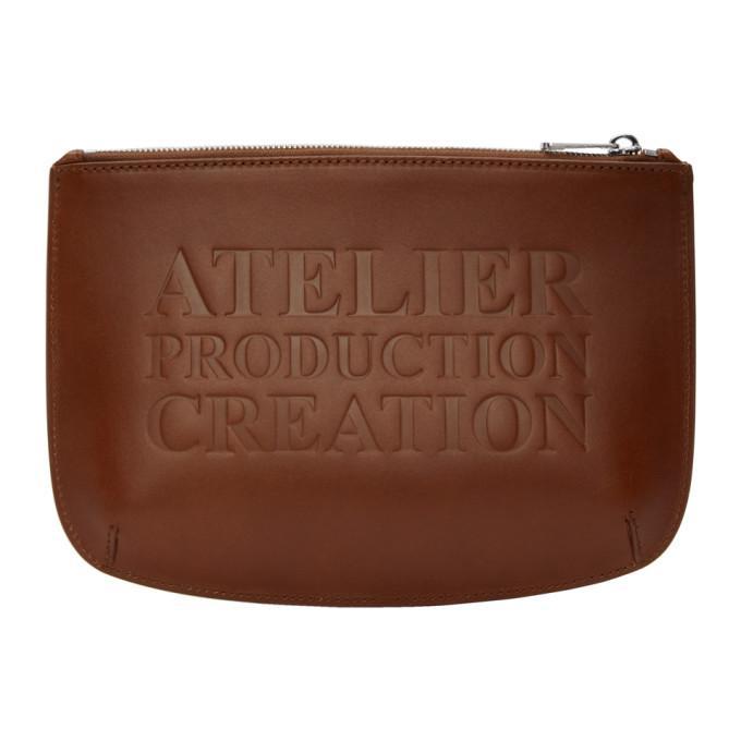 A.p.c. Brown Atelier Pouch