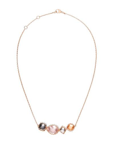Larkspur & Hawk Sadie Four-stone Necklace