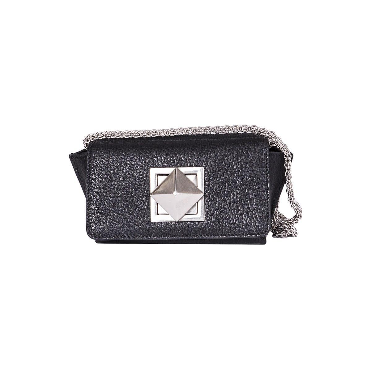Sonia Rykiel Le Copain Shoulder Bag In Black