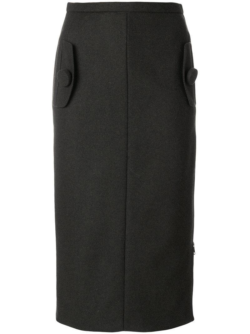N°21 Felt Skirt