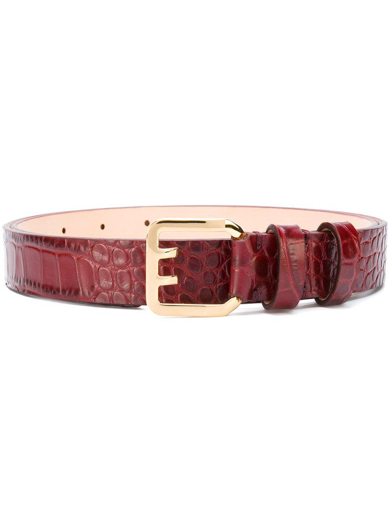 Dsquared2 Textured Leather Belt