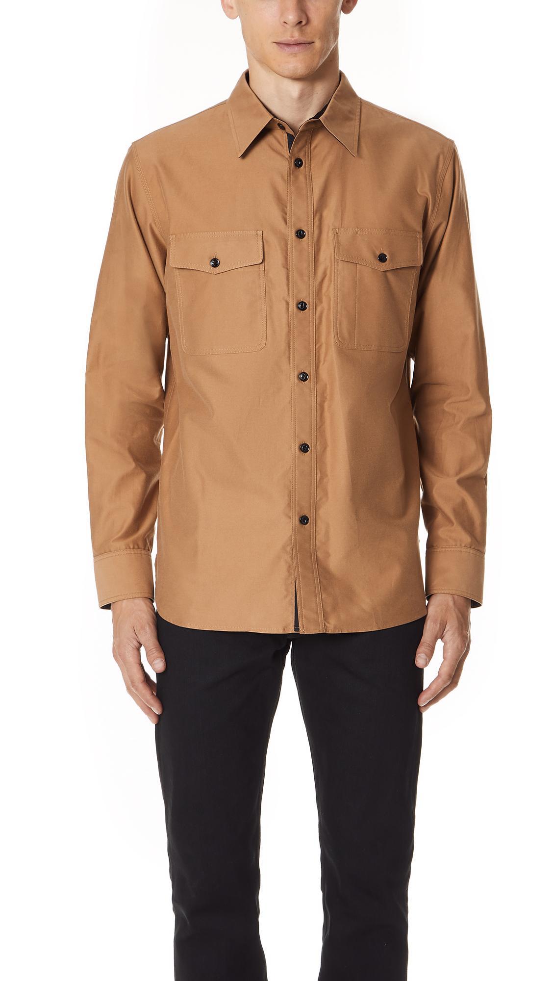 Rag & Bone Jack Shirt In Cream