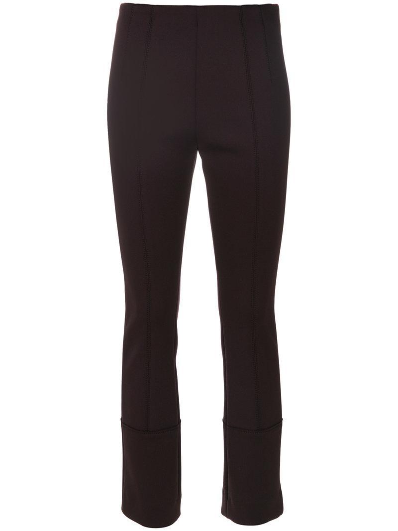 Dorothee Schumacher Stitch Detail Trousers