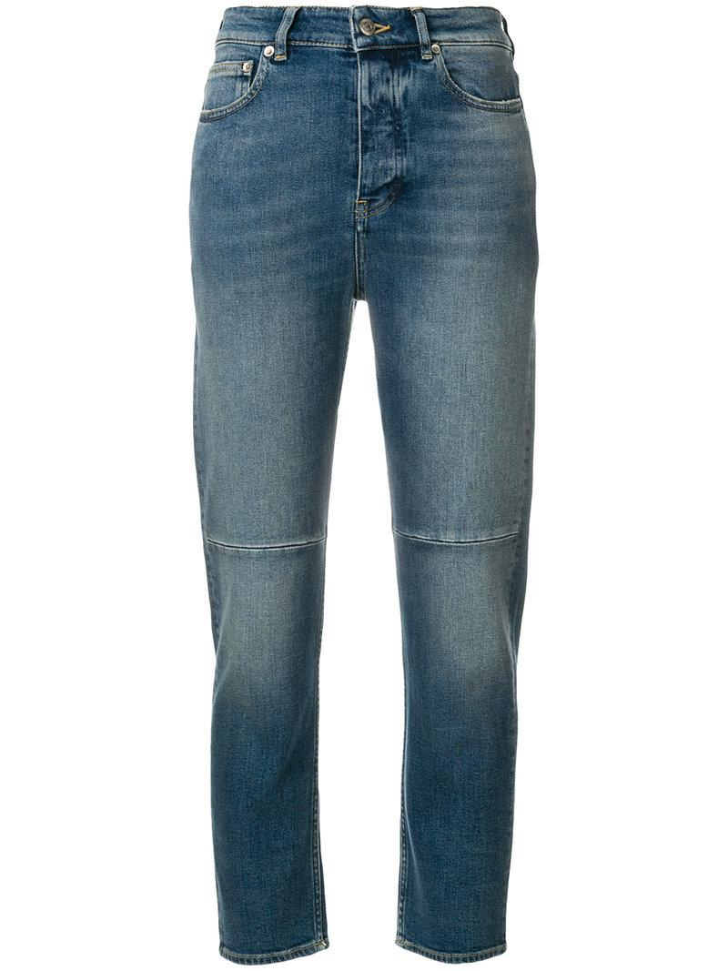 Golden Goose Happy Pant Jeans In Blue
