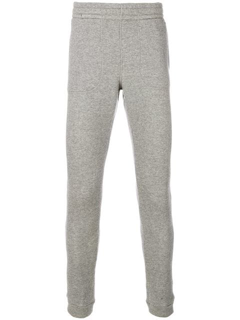 Z Zegna Fitted Tracksuit Bottoms - Grey