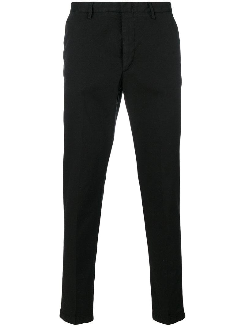 Hugo Boss Boss  Straight Leg Trousers - Black