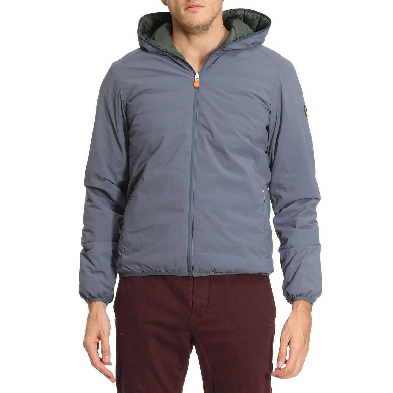 Save The Duck Jacket Jacket Men  In Grey
