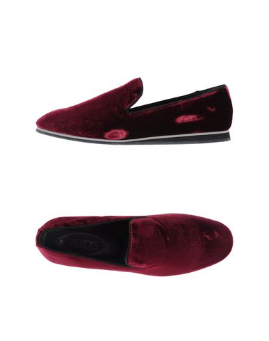 Tod's Loafers In Maroon