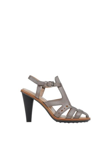 Tod's Sandals In Grey
