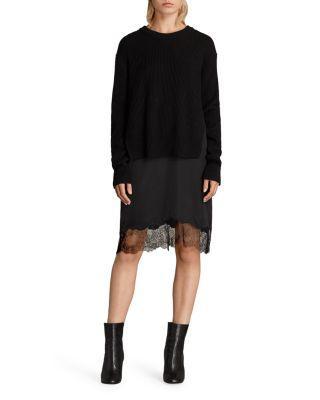 BlackModesens Long Sleeve 1 Allsaints Dress 2 Eloise In 8vn0wmN