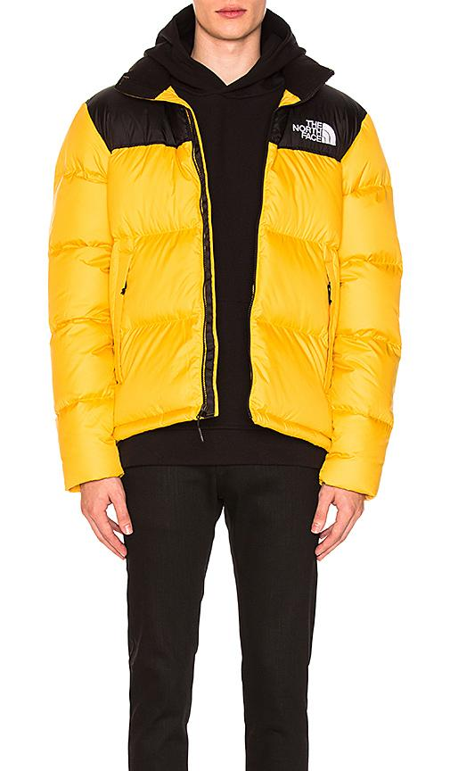 7acf15593625 The North Face Novelty Nuptse Jacket In Tnf Yellow