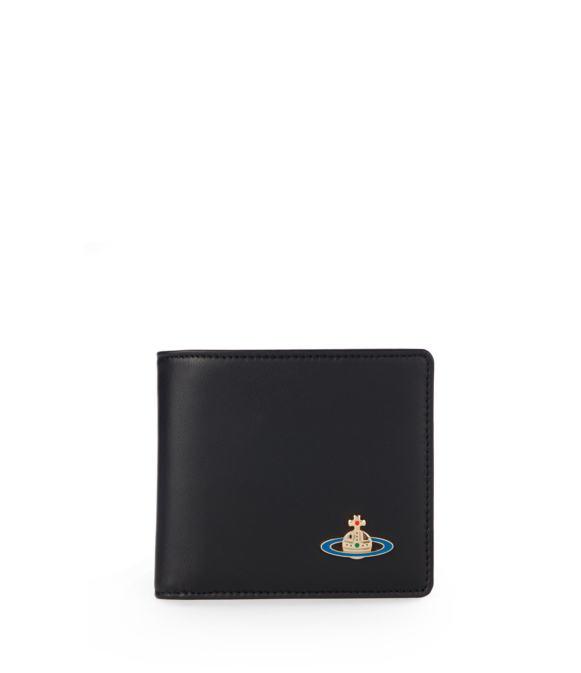 fe4e4c96aeb Vivienne Westwood Nappa Wallet With Coin Pocket 51010009 Black ...