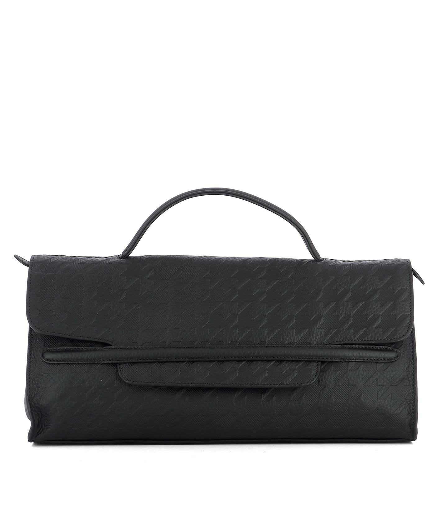 Zanellato Black Leather Handle Bag