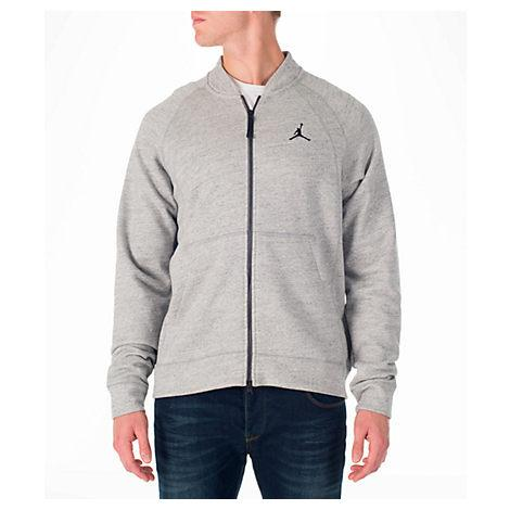 ff551a695732 Nike Men s Air Jordan Wings Fleece Bomber Jacket