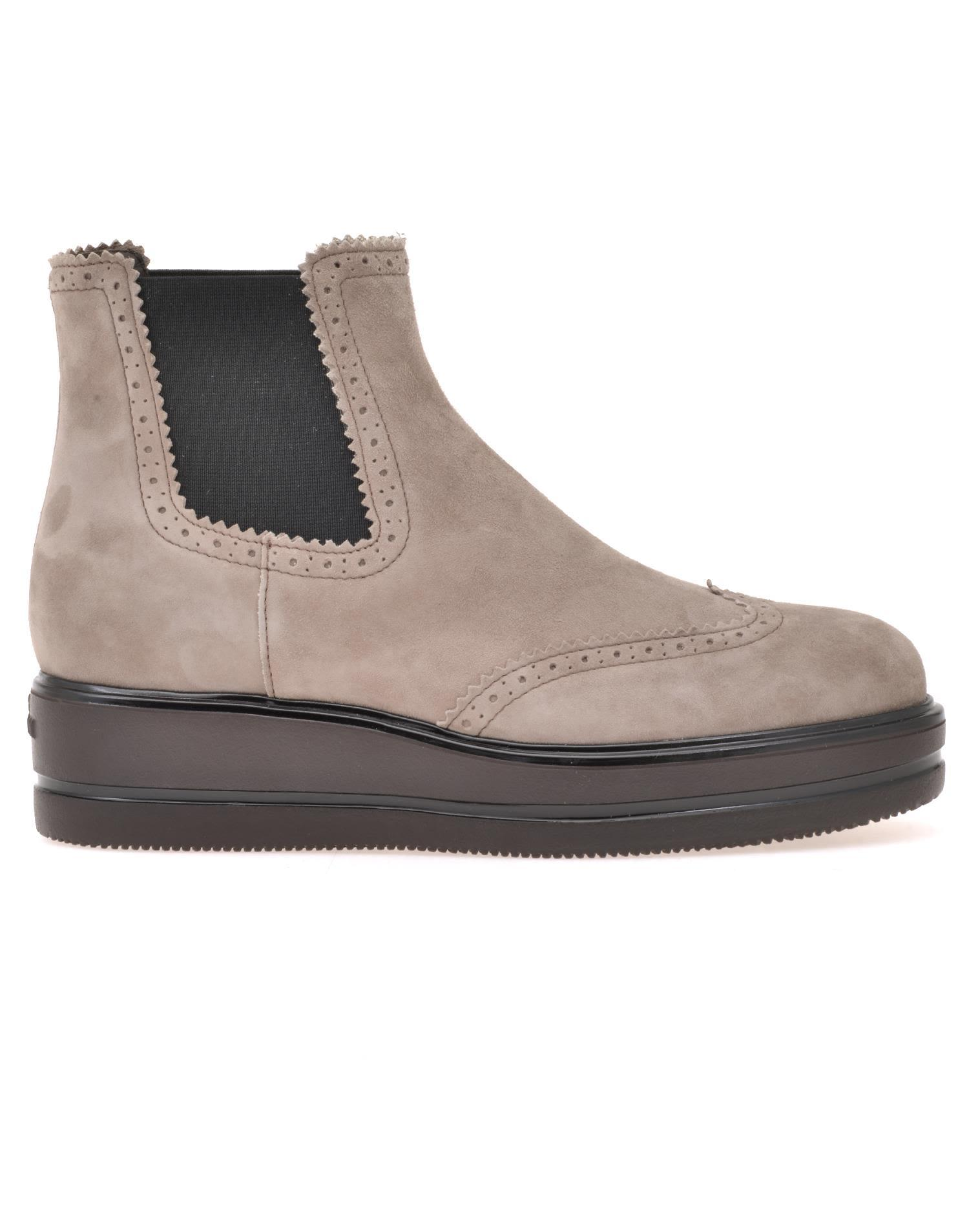 Hogan H323 Chelsea Boots In Palude