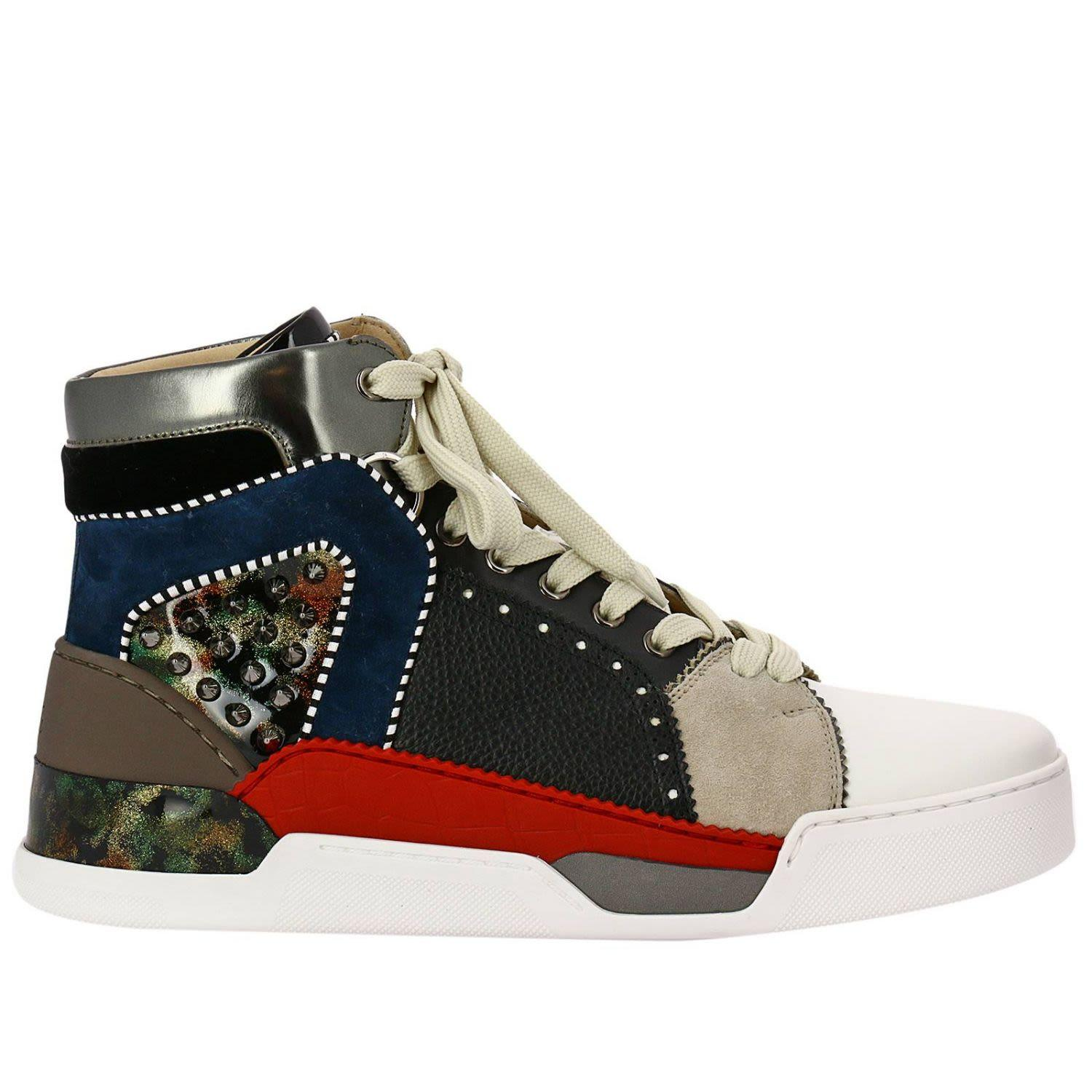brand new 71738 88e78 Sneakers Shoes Men Christian Louboutin in Multicolor