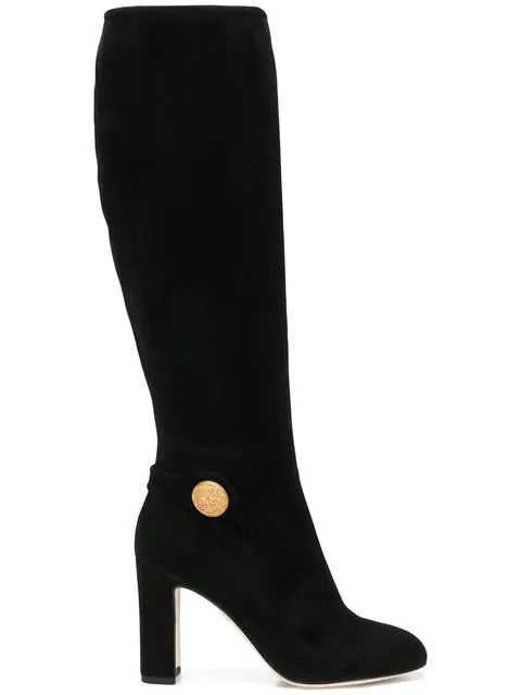 Dolce & Gabbana Vally Mid-calf Boots In 80999