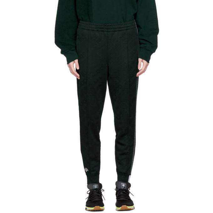 83c2c740a876 Adidas Originals By Alexander Wang Green Aw Jacquard Track Pants ...