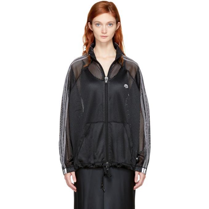 f0fe5c15426 Adidas Originals By Alexander Wang Adidas By Alexander Wang Mesh Track  Jacket In Black