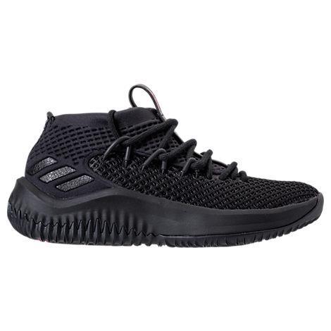 wholesale dealer 7e514 ff521 Adidas Originals Boys Grade School Dame 4 Basketball Shoes, Black