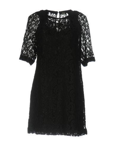 Maje Short Dresses In Black